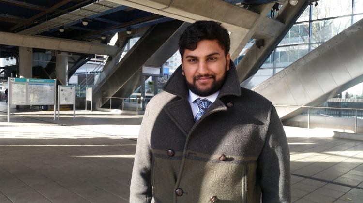 Aazim Ihsam, a nephew of victim. Pic: Simisola Jasmine Jolaoso