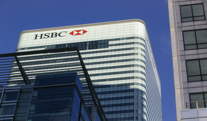 HSBC HQ in Canary Wharf. Pic: Barry Caruth