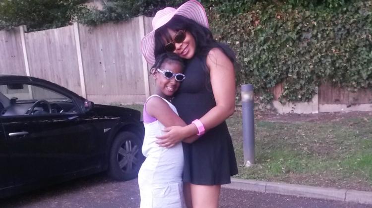 Nikki Haffenden of Bizz-e-Kidz with her daughter. Pic: Lucy Domachowski