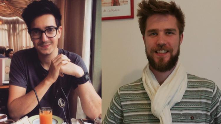 Paul Amar and Romain Dautricourt , co-founders of Bubbles App. Pic: Bubbles App