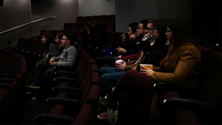 The cinema has 101 seats with new sound system and projector. Pic: Jungho Choi