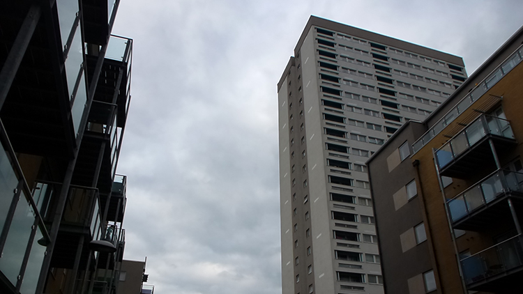 Grafton House, Bow, Tower Hamlets. Pic: Mikey