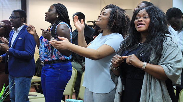 Pentecostal churches, such as Great Light Connections in Tower Hamlets, are growing. Pic: GLC