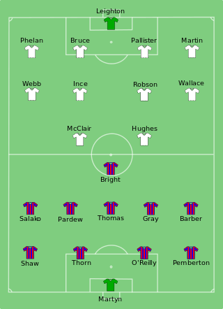 Team sheet for the 1990 FA Cup Final. Pic: Wikimedia Commons