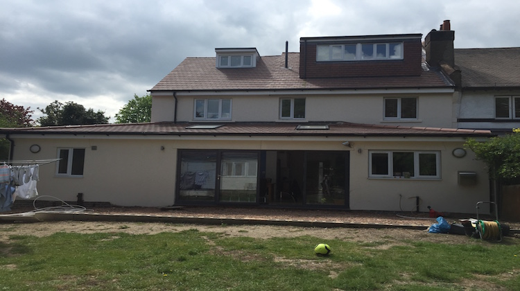 Extensions to the house include a loft conversion, an extension in their kitchen and two extra bedrooms. Pic: Shima Begum