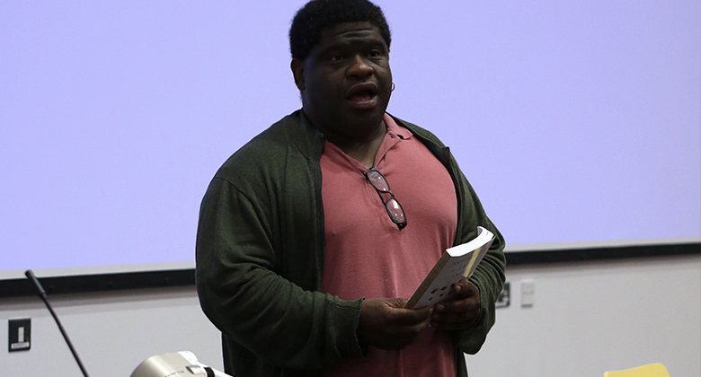 Goldsmiths welcomed a panel of journalists, including Gary Younge, to discuss the profession and their own experiences with young students. Pic: Emily Benington