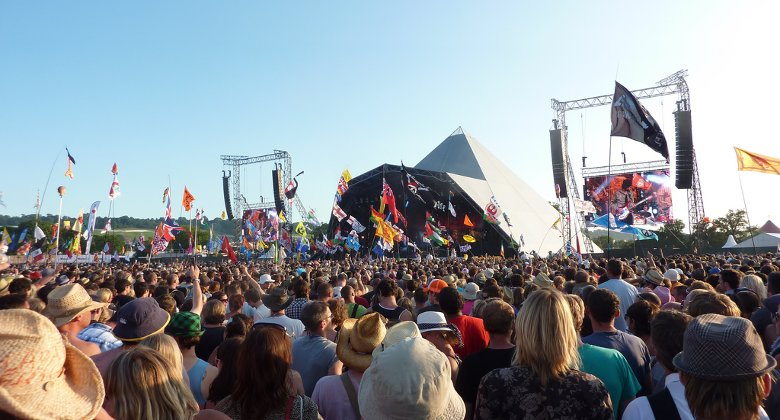 The choir will perform on Glastonbury's prestigious Pyramid stage later this month Pic: Flickr user Wonker