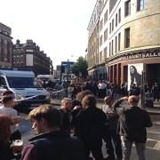 Spitalfields bomb scare. Credit: Jessica Ferrow
