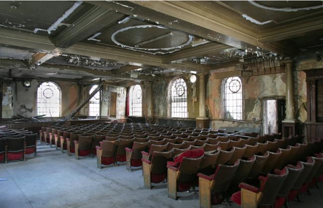 How the theatre looks now. Credit: Phoenix Community Housing