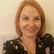 Jenni Wilson, founder of the Stitch n' Bitch Sewcials