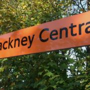 Overground service was suspended between Highbury & Islington and Stratford, including Hackney Central Station, Pic: Wikimedia Commons