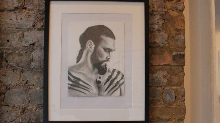 A portrait of Khal Drogo. Pic: Cady Siregar