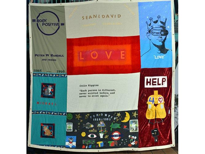 UK AIDS Memorial Quilt. Photo: Mark Santos