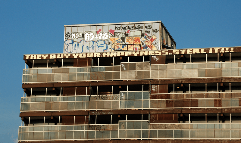 Heygate Estate in South London. Pic: Richard Fisher, Flickr