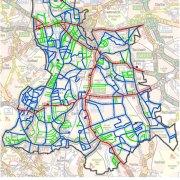 Lewisham Road Gritting Map
