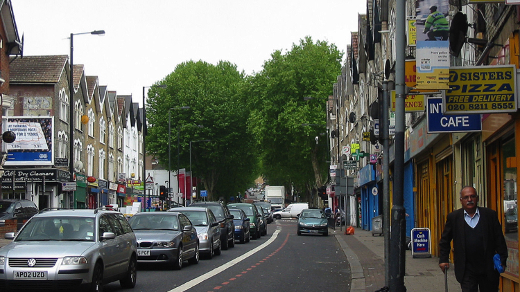 Seven Sisters Road, Haringey. Pic; Alan Stanton (Flickr)