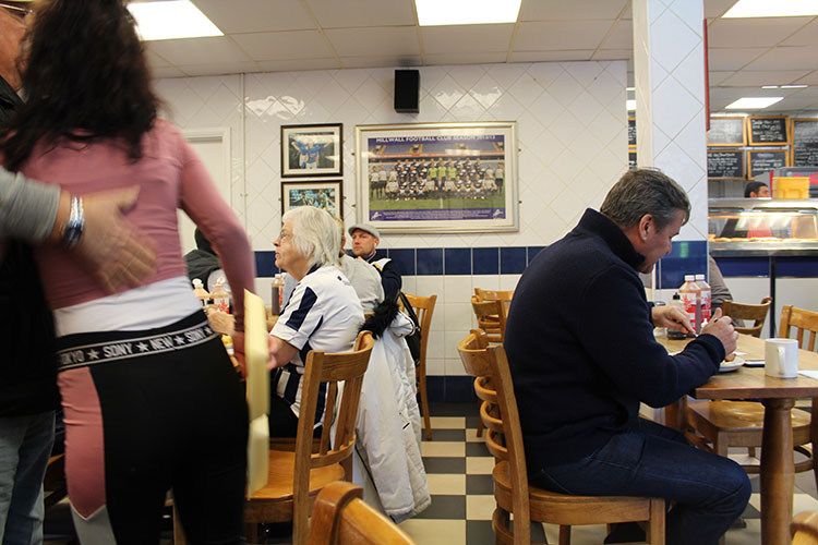 The Millwall Cafe