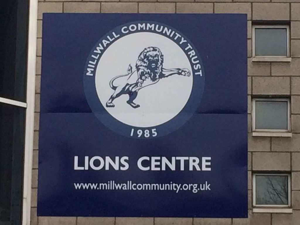 Millwall Community Trust badge