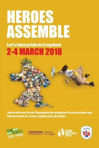 Hero's assemble scheme poster