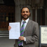Anti-incinerator campaigner Shasha Khan. Pic: Stop the South London Incinerator