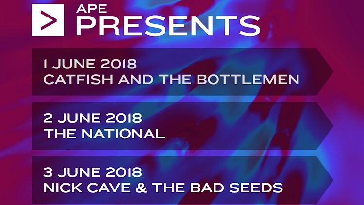 APE Presents headlining acts
