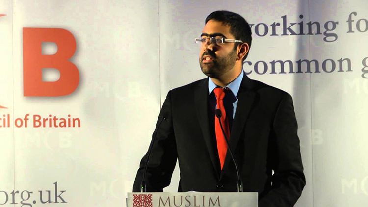 Miqdaad Versi, spokesperson for the Muslim Council for Britian