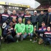 Croydon Eagles football team. Pic: Croydon Eagles