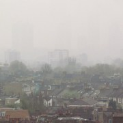 Pollution is a serious problem in Hackney, the air surrounding 98% of the borough's main roads contains levels of harmful pollutants above the EU legal limit. Pic: David Holt