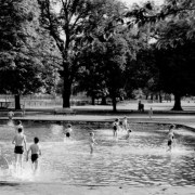 Clissold Park pool, Hackney in 1958