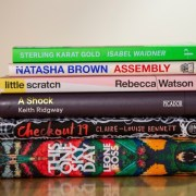 The six nominated novels for 2021's Goldsmiths Prize