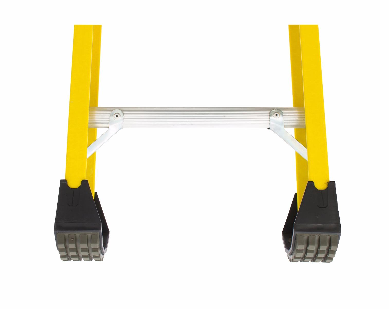 Louisville 8 Fiberglass Extension Single Manhole Ladder