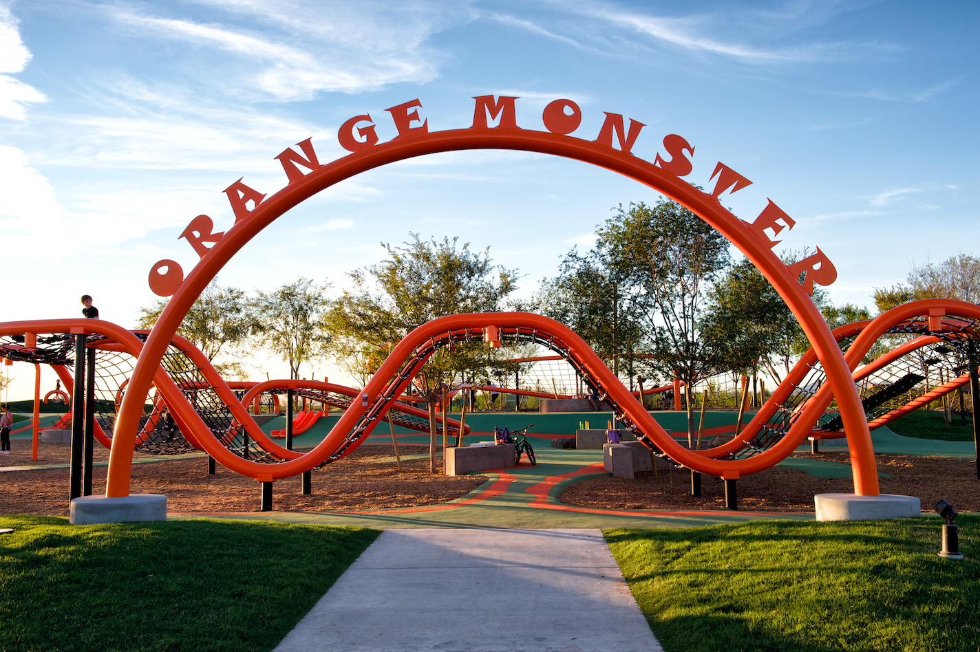 Orange Monster opens to the public at The Eastmark Great Park