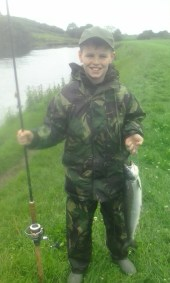 East Mayo Anglers Cian O'Hagan Donegal 12yrs 5lb Worm Bridge-Cloong 20'7'15