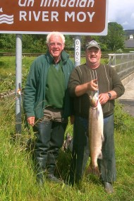 East Mayo Anglers Pat Joyce Ballyvary 13lb Sp Ballylah to Cloong 21'7'15