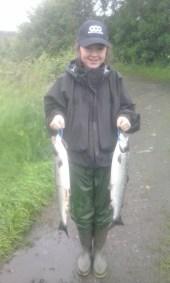 East Mayo Anglers Rhianne McManmon Kildare 12yrs 6+5lb Sp Gub-B 19'7'15