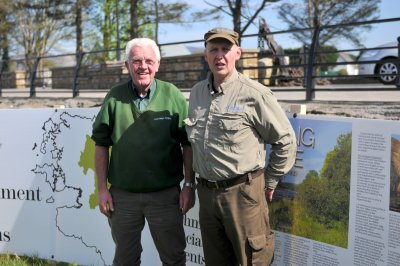 Jim & Declan Cooke at Moy Catchment Open day 08.04.17
