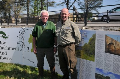 Jim & Declan Cooke at Moy Catchment open day 8.4.17