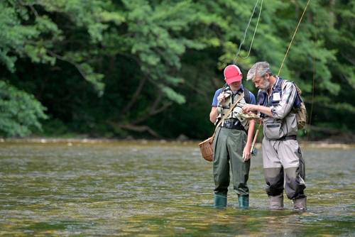 Fishing methods on the Moy