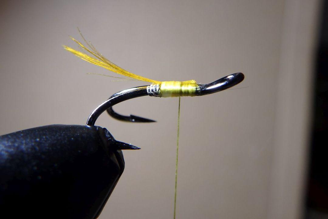 tying hair wing flies 3