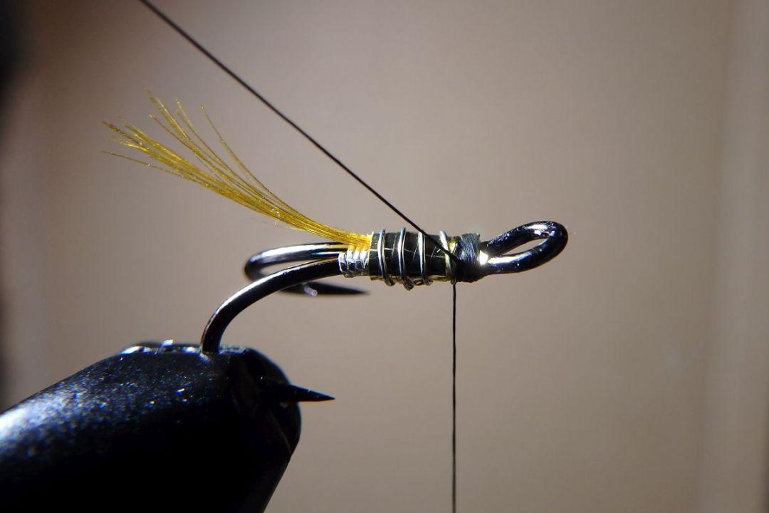 tying hair wing flies 10