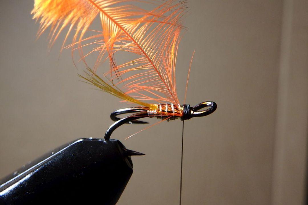 tying hair wing flies 11