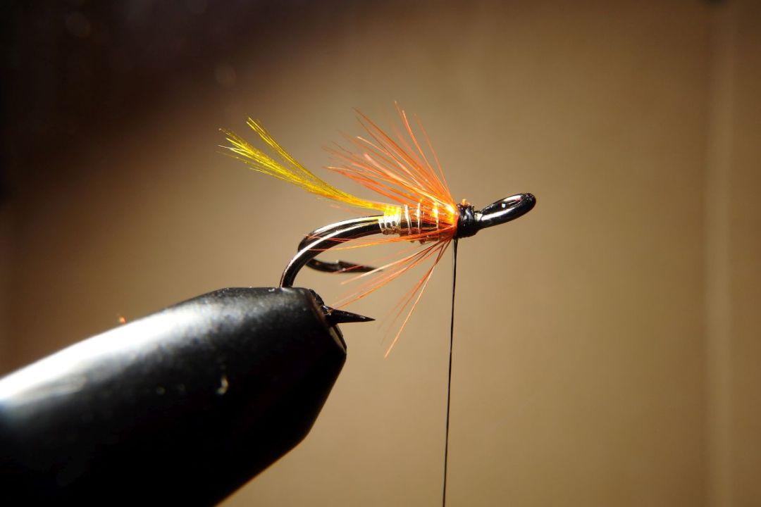 tying hair wing flies 13
