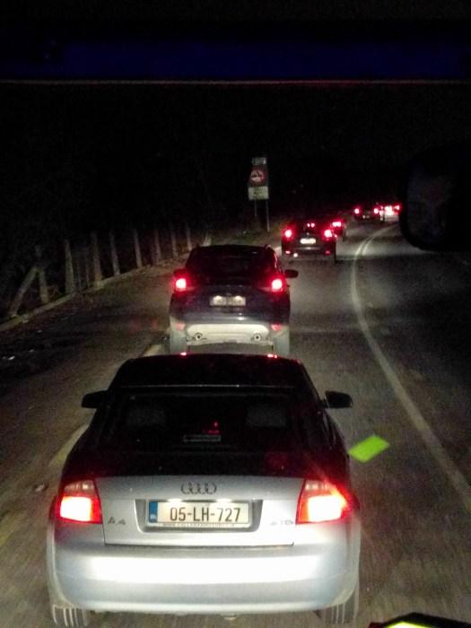 Constant traffic jams