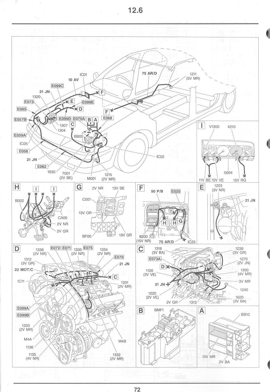 medium resolution of es9j4mk1injloc no light on dashboard french car forum 2005 citroen c5 fuse box