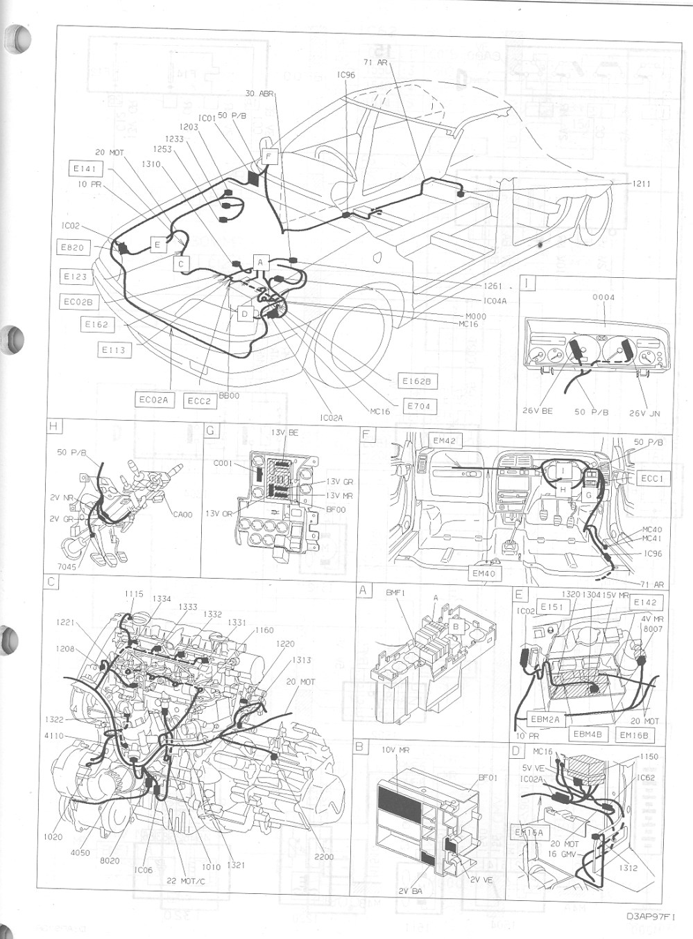 medium resolution of citroen ax wiring diagram 25 wiring diagram images citroen bx citroen hatchback
