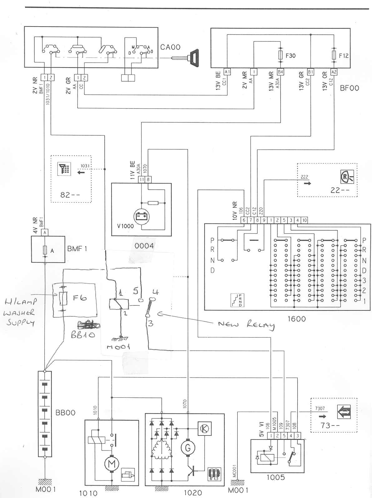 citroen c3 2007 radio wiring diagram rheem air conditioner adding a starter relay to counteract failing ignition