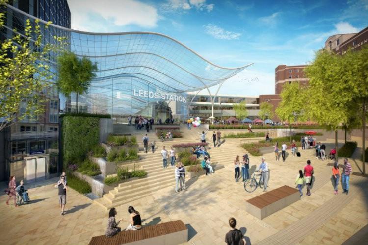 Blueprint unveiled on leeds integrated station masterplan east the blueprint for leeds malvernweather Images