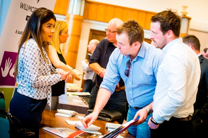 Construction event brings Leicester businesses and buyers together