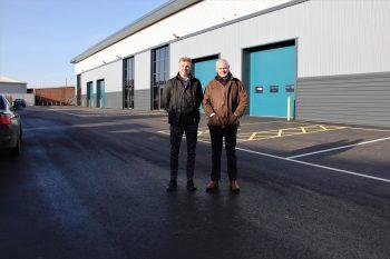 Quartet of new units sold at Loughborough trade park