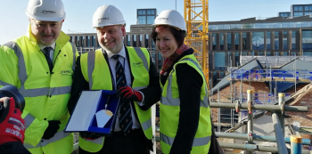 £14m Northampton managed workspace scheme tops out